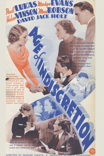 Poster of Age of Indiscretion