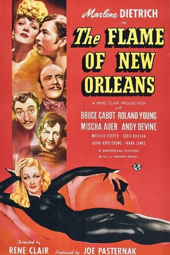 Poster of The Flame of New Orleans