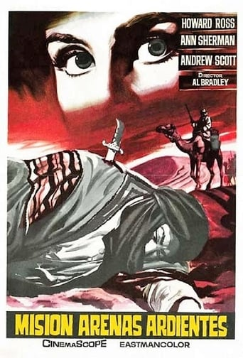 Poster of Missione sabbie roventi