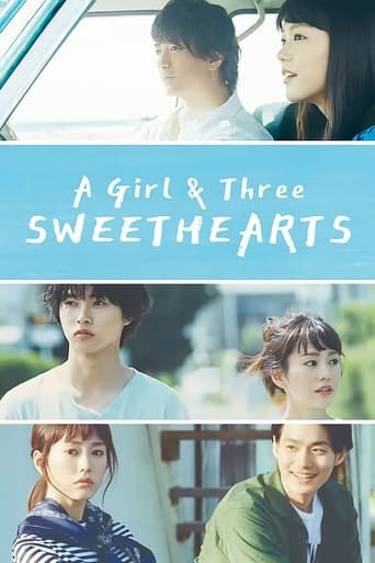 Poster of A Girl & Three Sweethearts
