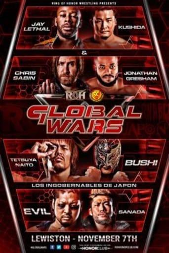 Poster of ROH/NJPW Global Wars 2018 - Lewiston