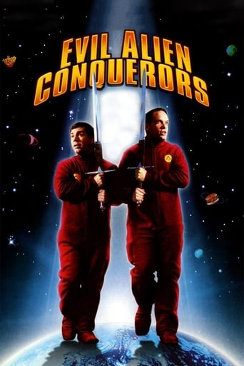 Poster of Evil Alien Conquerors