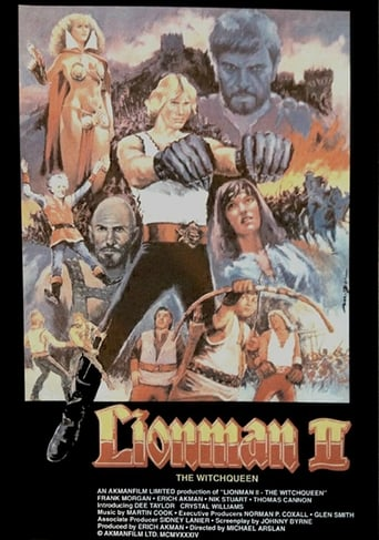Poster of Lionman II: The Witchqueen