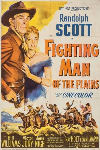 Poster of Fighting Man of the Plains