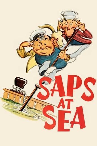 Poster of Saps at Sea