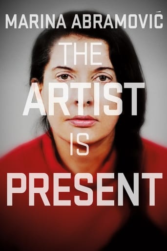 Poster of Marina Abramović: The Artist Is Present