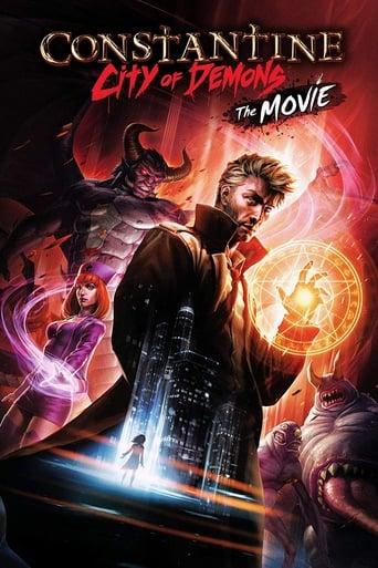 Constantine Cidade dos Demônios - O Filme - Poster
