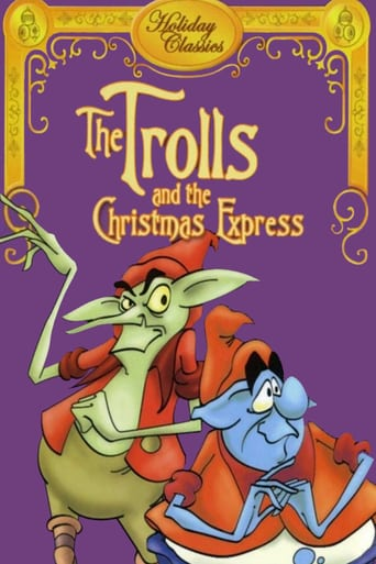 Poster of The Trolls and the Christmas Express