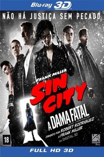 Poster of Sin City 2: A Dame to Kill For 3D