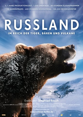 Poster of Russia - In the Realm of Tigers, Bears and Volcanoes