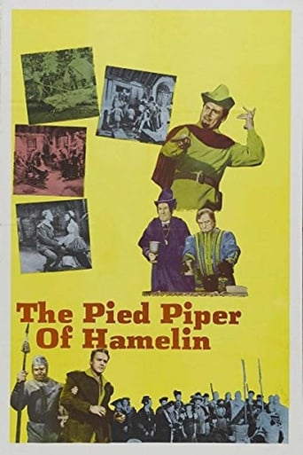 Poster of The Pied Piper of Hamelin