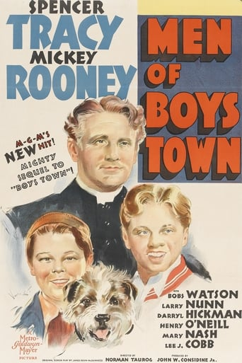 Poster of Men of Boys Town