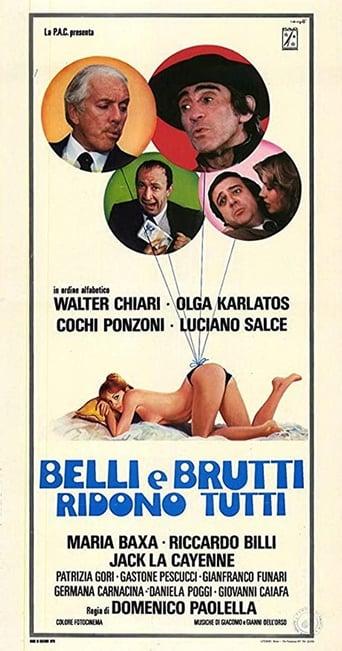 Poster of Belli e brutti ridono tutti