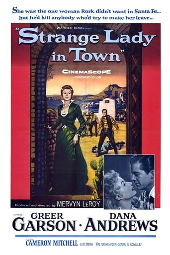 Poster of Strange Lady in Town