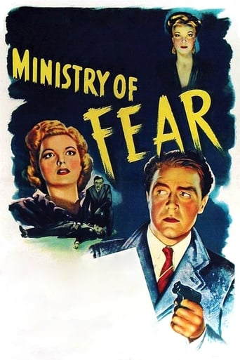 Poster of Ministry of Fear