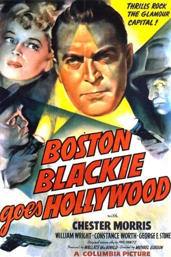 Poster of Boston Blackie Goes Hollywood