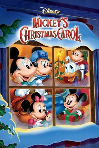 Poster of Mickey's Christmas Carol