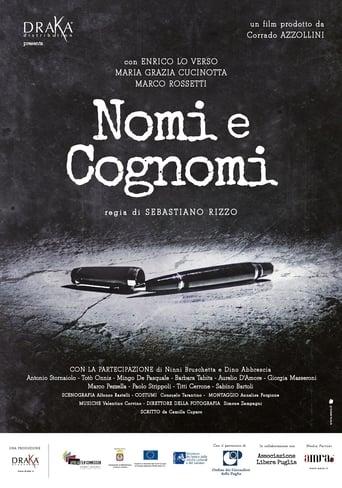 Poster of Nomi e cognomi
