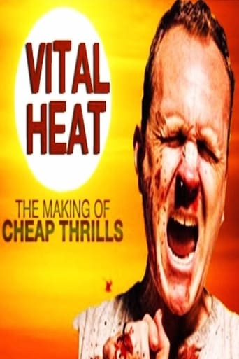 Poster of Vital Heat: The Making of 'Cheap Thrills'