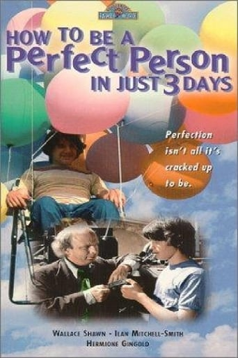 Poster of How to Be a Perfect Person in Just Three Days