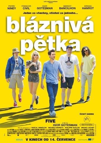 Poster of Bláznivá pětka