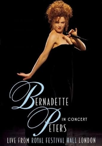 Poster of Bernadette Peters in Concert