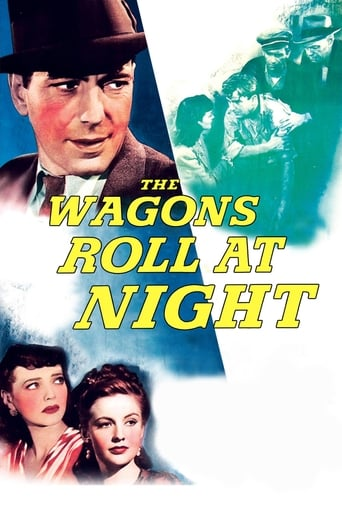 Poster of The Wagons Roll at Night