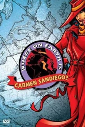 Poster of Where on Earth is Carmen Sandiego?