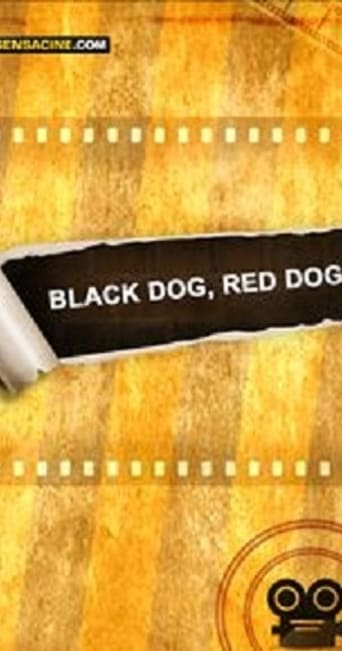Poster of Black Dog, Red Dog