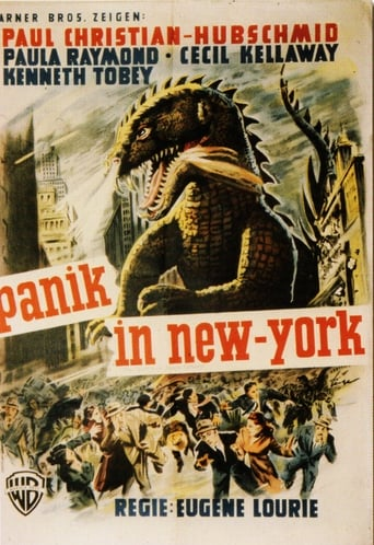 Filmplakat von Dinosaurier in New York
