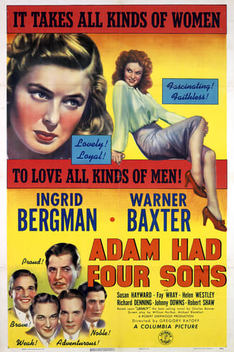 Poster of Adam Had Four Sons
