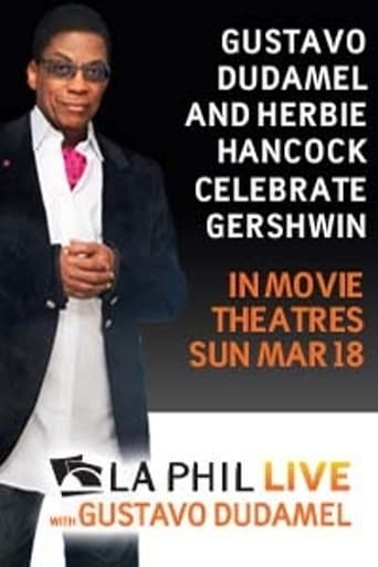 Poster of Gustavo Dudamel and Herbie Hancock Celebrate Gershwin