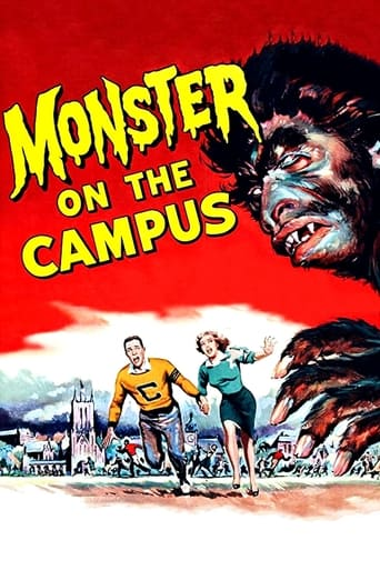 Poster of Monster on the Campus