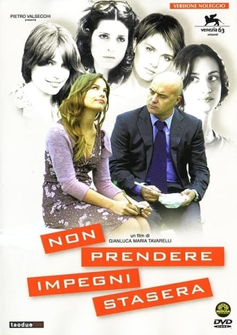 Poster of Non prendere impegni stasera