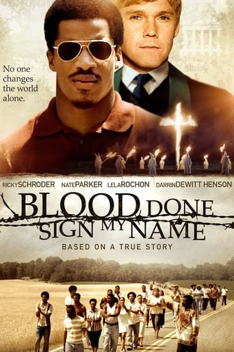 Poster of Blood Done Sign My Name