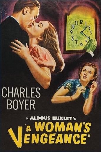 Poster of A Woman's Vengeance