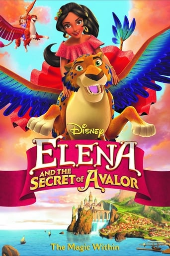 Poster of Elena and the Secret of Avalor
