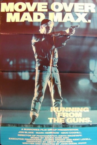 Poster of Running from the Guns