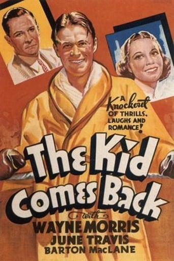 Poster of The Kid Comes Back