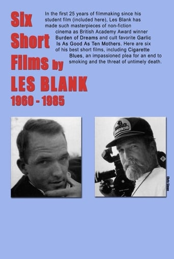 Poster of Six Short Films of Les Blank (1960-1985)