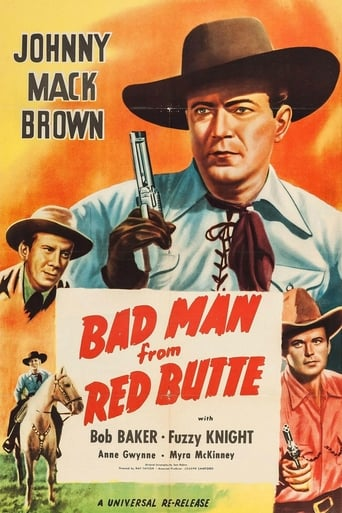 Poster of Bad Man from Red Butte