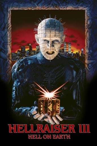Poster of Hellraiser III: Hell on Earth