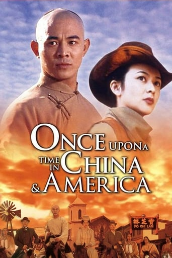 Poster of Once Upon a Time in China and America