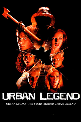 Poster of Urban Legacy: The Story Behind Urban Legend
