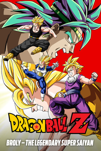 Poster of Dragon Ball Z: Broly – The Legendary Super Saiyan