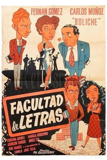 Poster of Facultad de letras