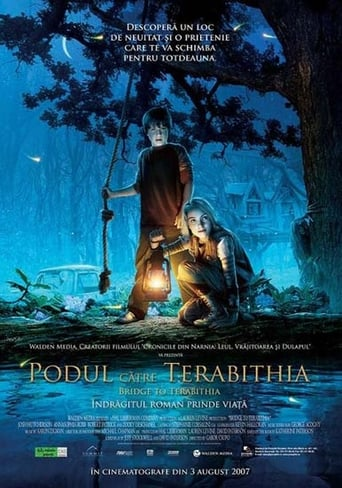 Poster of Podul către Terabithia