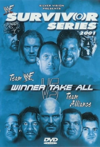 Poster of WWE Survivor Series 2001