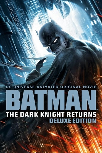 Poster of Batman: The Dark Knight Returns Deluxe Edition