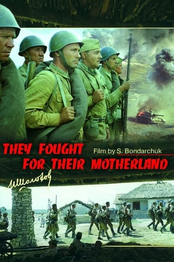 Poster of They Fought for Their Motherland